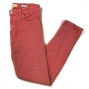 Sanctuary Jeans 27 The Charmer Coral Skinny